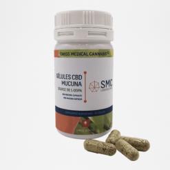 Gélules Mucuna CBD | 80x340mg | compléments alimentaires