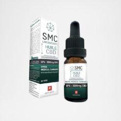 Huile CBD sans THC-30%